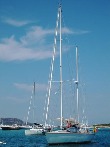 Sailing on the Mediterranean Sea, Bonifacio, Corsica