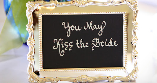 8 New Ways to Make the Bridal Couple Kiss | slice.ca