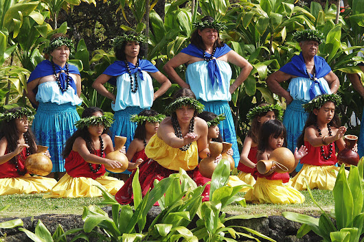 Hula and Tahitian Dancing