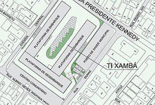 Terminal integrado de Xambá. Imagem: Grande Recife/Divulgação