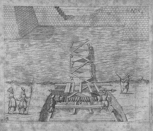 Heinrich Zeising - Theatri machinarum Erster - 1613 k