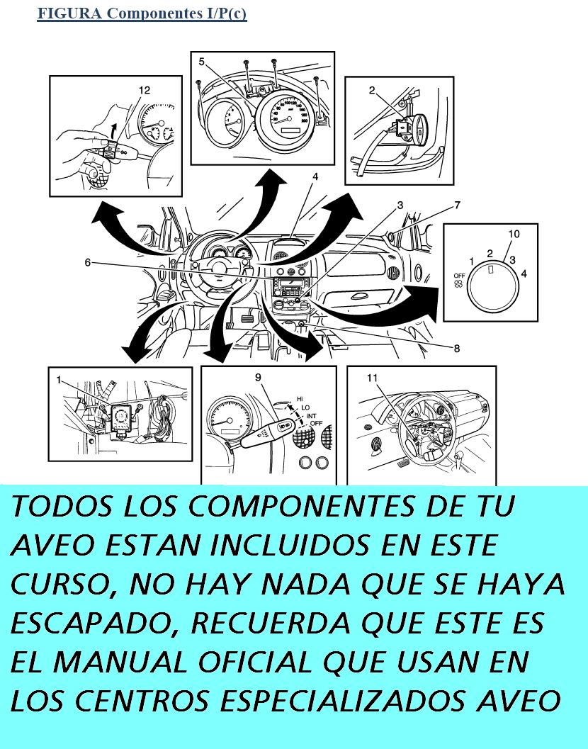 July 2017 Aveo Engine Diagram Manual De Reparacion Chevrolet 2005 2009 Mecanica
