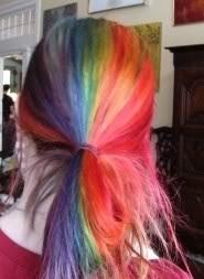 Μαλλιά ουράνιο τόξο (9)