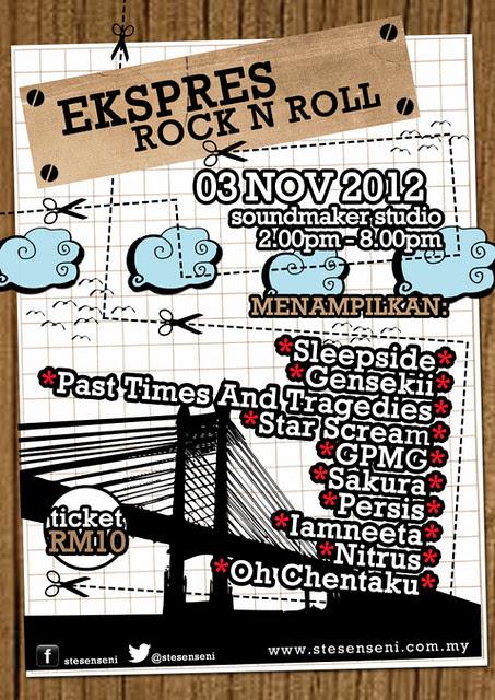 Gigs Ekspres Rock n Roll Ke Pulau Pinang Stesen SENI