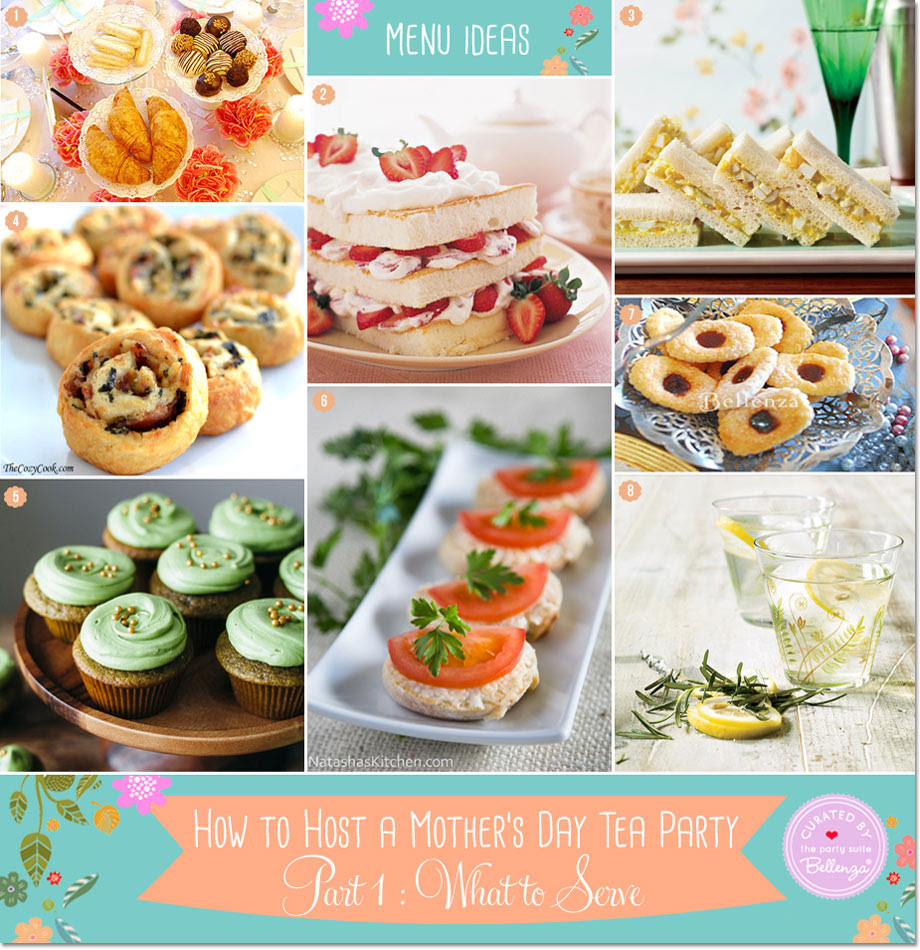 Simple Mothers Day Tea Party Food Easy Tea Party Menu Ideas