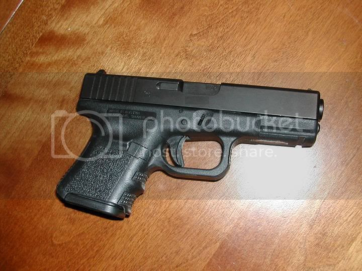 Image result for chopped g19 to take g26 mags