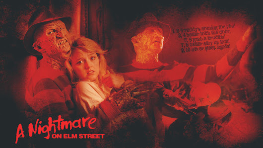 Image: Robert Englund Elm Street by Anthony258 on DeviantArt