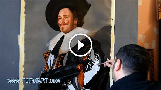 Hals - The Laughing Cavalier - Fine Art Painting Reproduction Video by TOPofART.com