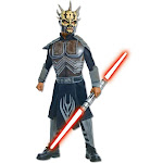 Deluxe Kids Star Wars Savage Opress Costume - Size Small