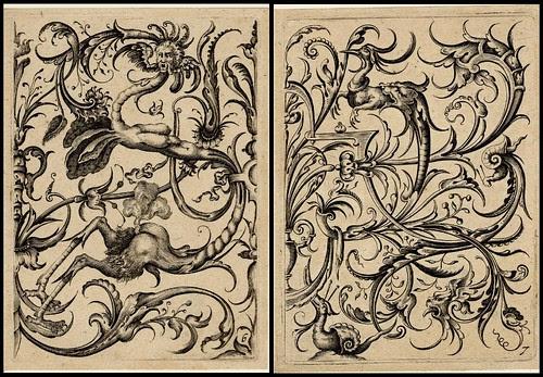 grotesque ornament design