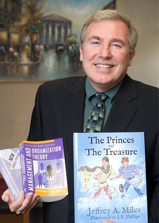 Jeffrey A. Miles, bal kezében a buzi tündérmeséje