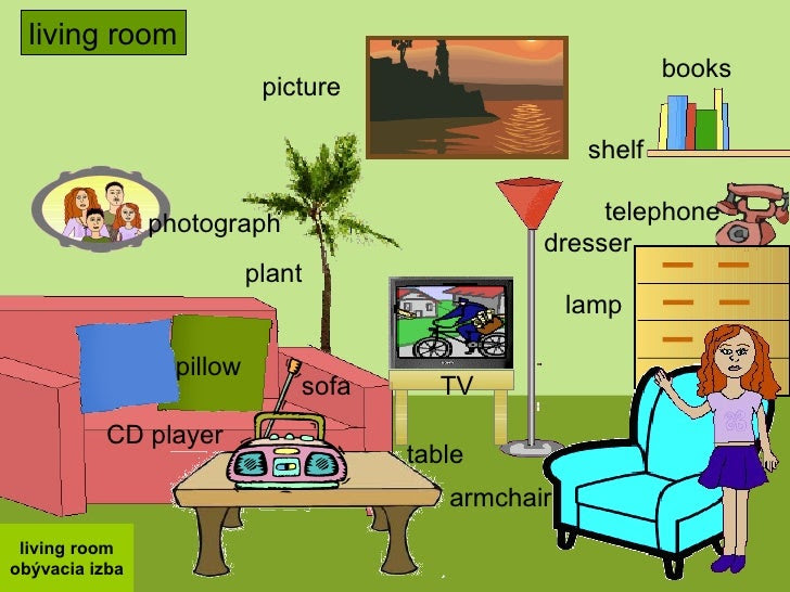 Living Room Furniture Names In English - Modern House