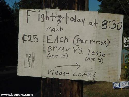 FIGHTing MATCH