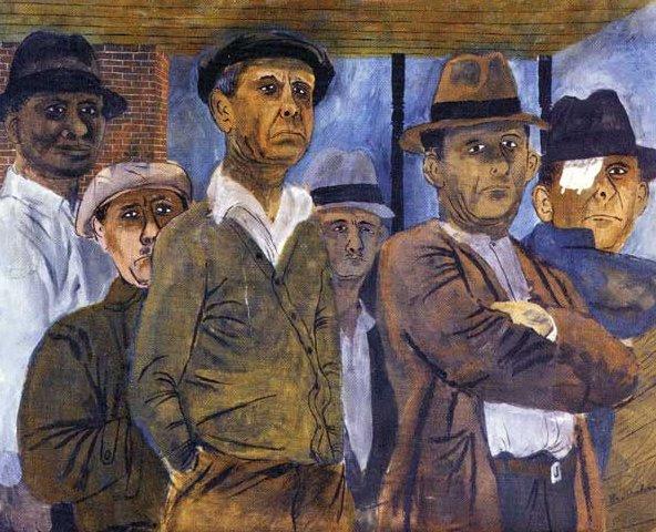 unemployment-by-ben-shahn
