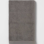 Everyday Solid Hand Towel Charcoal Gray - Room Essentials