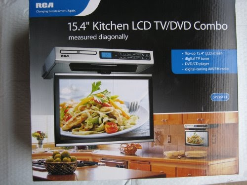 kitchen tv radio under cabinet rca kitchen lcd tv dvd combo 15 4 quot 22085