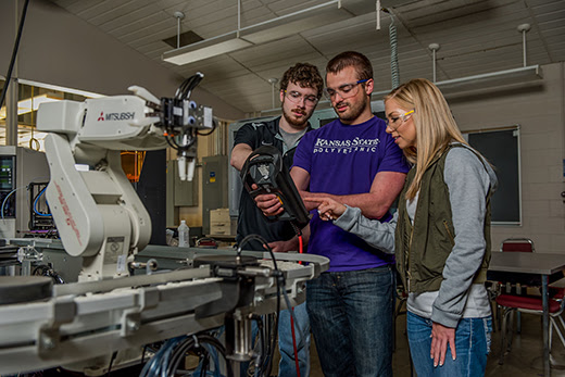 Kansas State University Polytechnic Campus adds robotics and automation to bachelor's degree offerings| Kansas State University | News and Communications Services