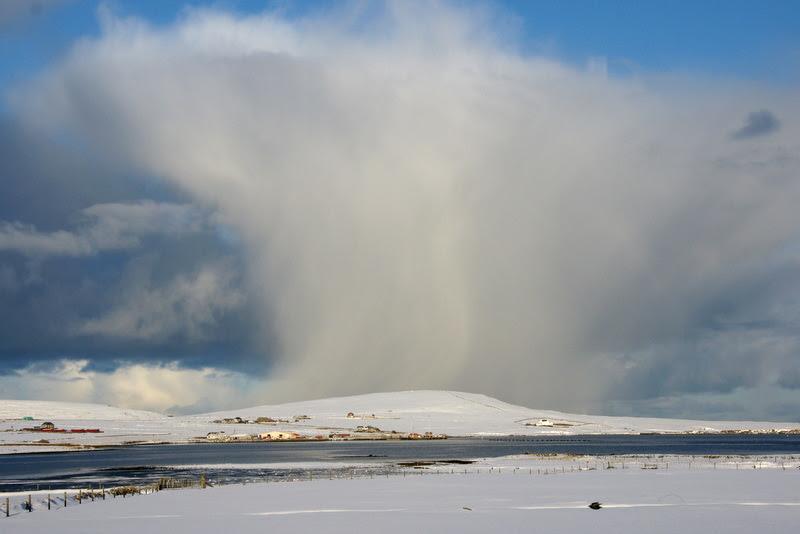 File:Snow shower passing Baltasound - geograph.org.uk - 1725745.jpg