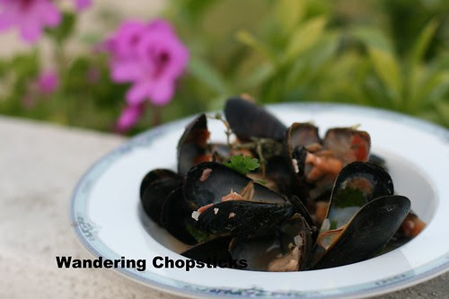 Moules Frites (Belgian Mussels with Fries) 1