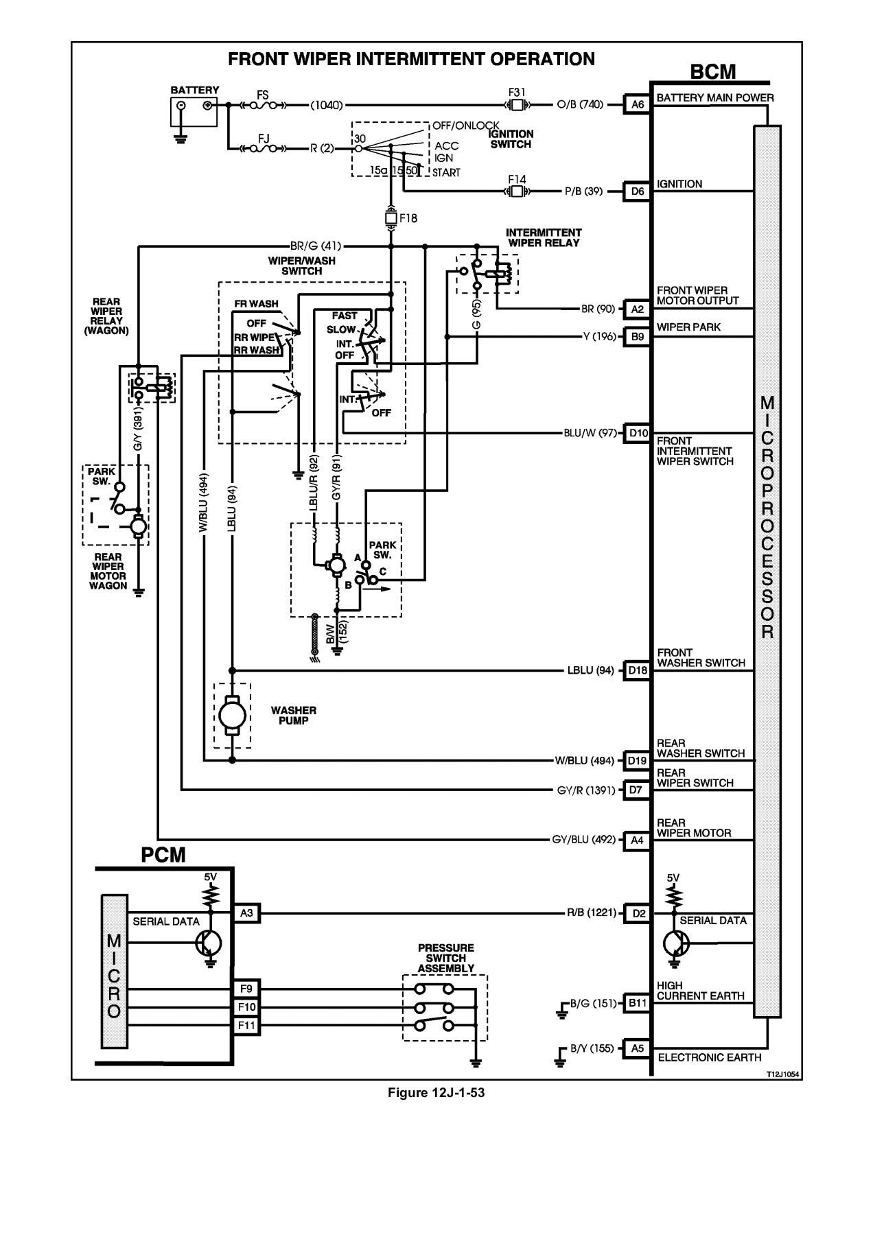 Saturn Vue Bcm Wiring Diagram