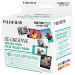 Fujifilm - instax Be Creative Value Film Pack (40 Sheets)