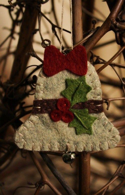 56 Original Felt Ornaments For Your Christmas Tree | | Craft Ideas