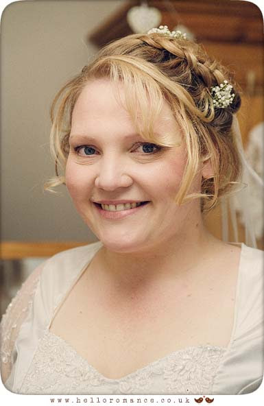 Bridal Portrait Bromswell Wedding Photography Suffolk - Hello Romance