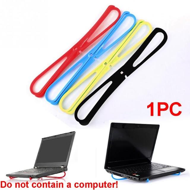 Goede Kopen Eenvoudige Notebook Warmteafvoer Beugel Draagbare X type Cooling Laptop Pad Koeler Houder Zakenreizen Accessoires Goedkoop