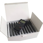 School Smart 2006536 10 Plus 2 Dot Matrix Graphic Calculator - Pack of 10