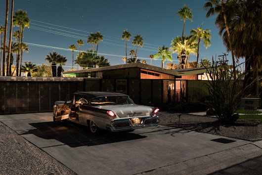 Tom Blachford's New Midnight Modern Photos