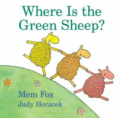 Cover Art for Where is the green sheep?