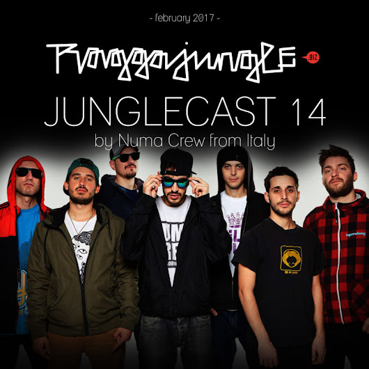 Junglecast 14 / 2017 – Numa Crew | Raggajungle.biz exclusive podcast - RaggaJungle.biz