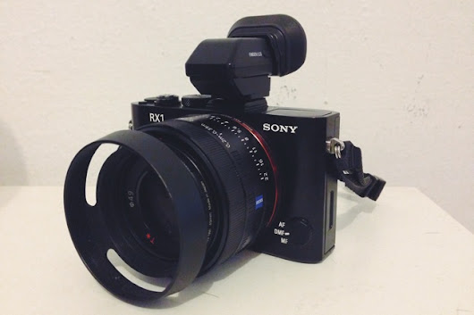 Electronic View Finder FDAEV1MK - The Must-Have Accessory for Your Sony RX1/RX1R ~ Cosmo Techno
