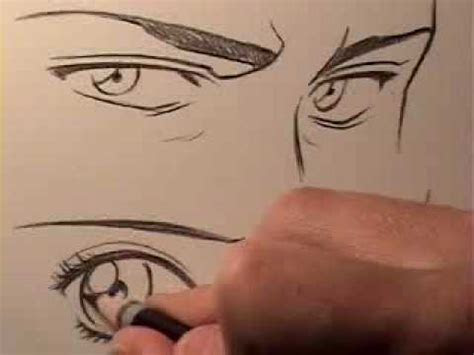 draw manga eyes male  female youtube