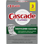 Cascade Dishwasher Cleaner - 3ct