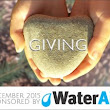 Giving and Water Aid on BonBonBreak