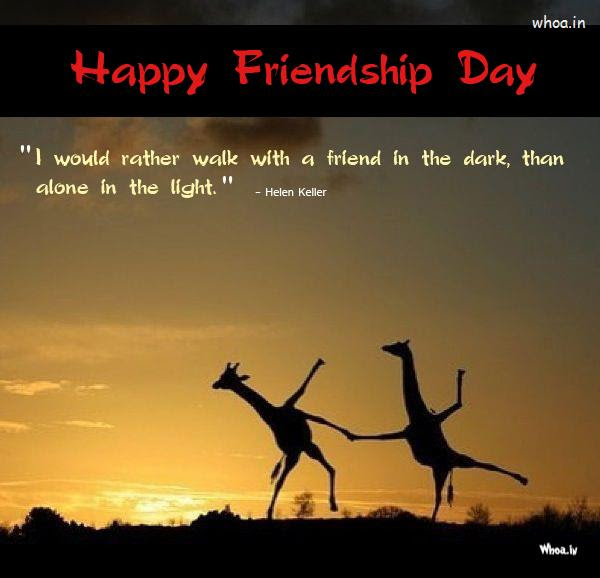 Happy Friendship Day Quotes On Quotestopics