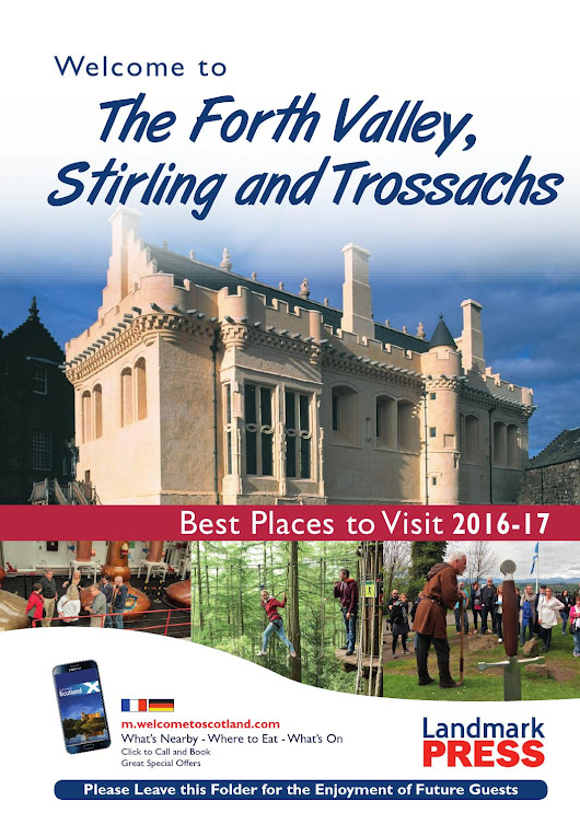 Welcome to The Forth Valley, Stirling and Trossachs