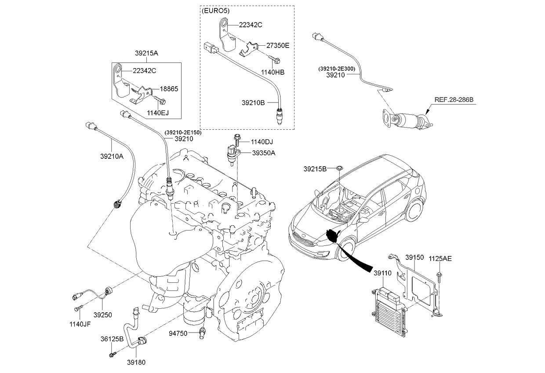 2012 Kium Forte Engine Diagram