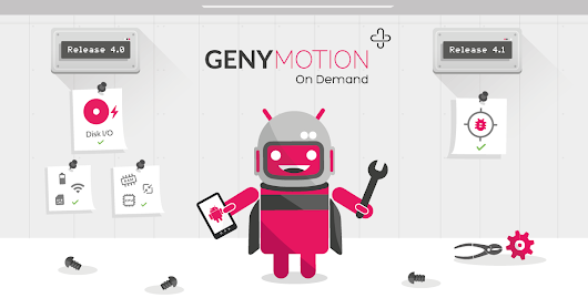 Genymotion On Demand v4.1 Released