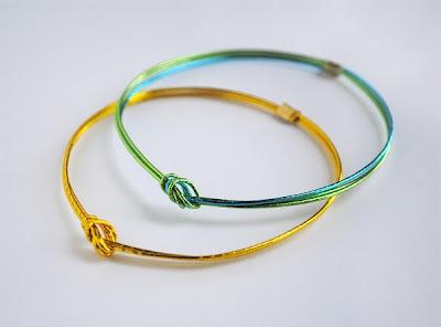 Mizuhiki Bracelets