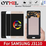 """NEW AMOLED 5.0"""" OTMIL For SAMSUNG Galaxy J3110 LCD Display Touch Screen Digitizer For SAMSUNG J3 Pro LCD J3109 J3119 J3110 Display"""