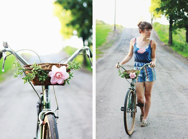 DIY Bisiklet Sepeti | lades kemiği