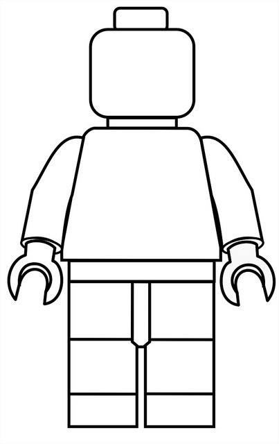 Color a Lego Man! | Happily Uprooted