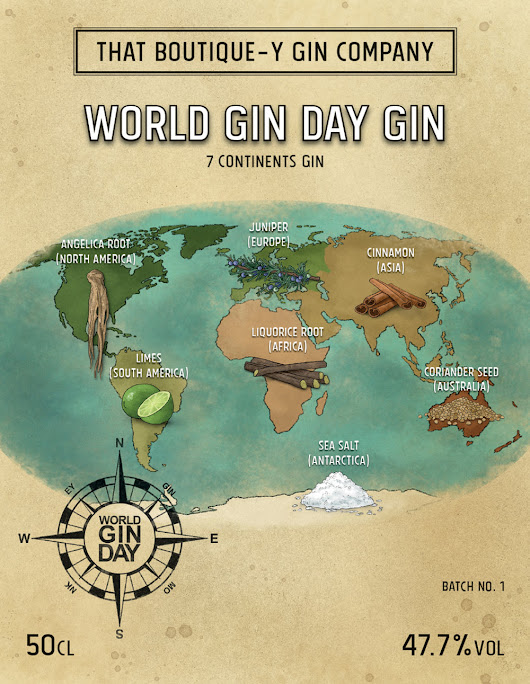 World Gin Day Gin!