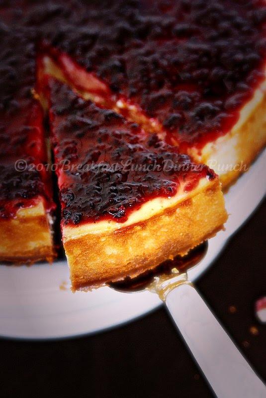 Wild Hibiscus Cheesecake