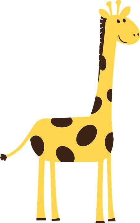 jerapah hewan liar gambar vektor gratis  pixabay