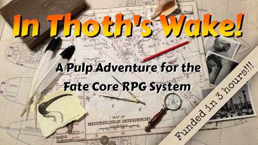 In Thoth's Wake - Zine Quest Edition!