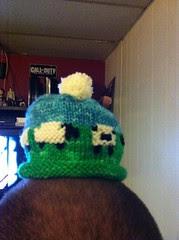 Sheepy hat