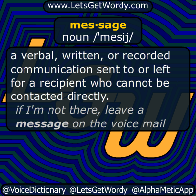 message 07/21/2017 GFX Definition